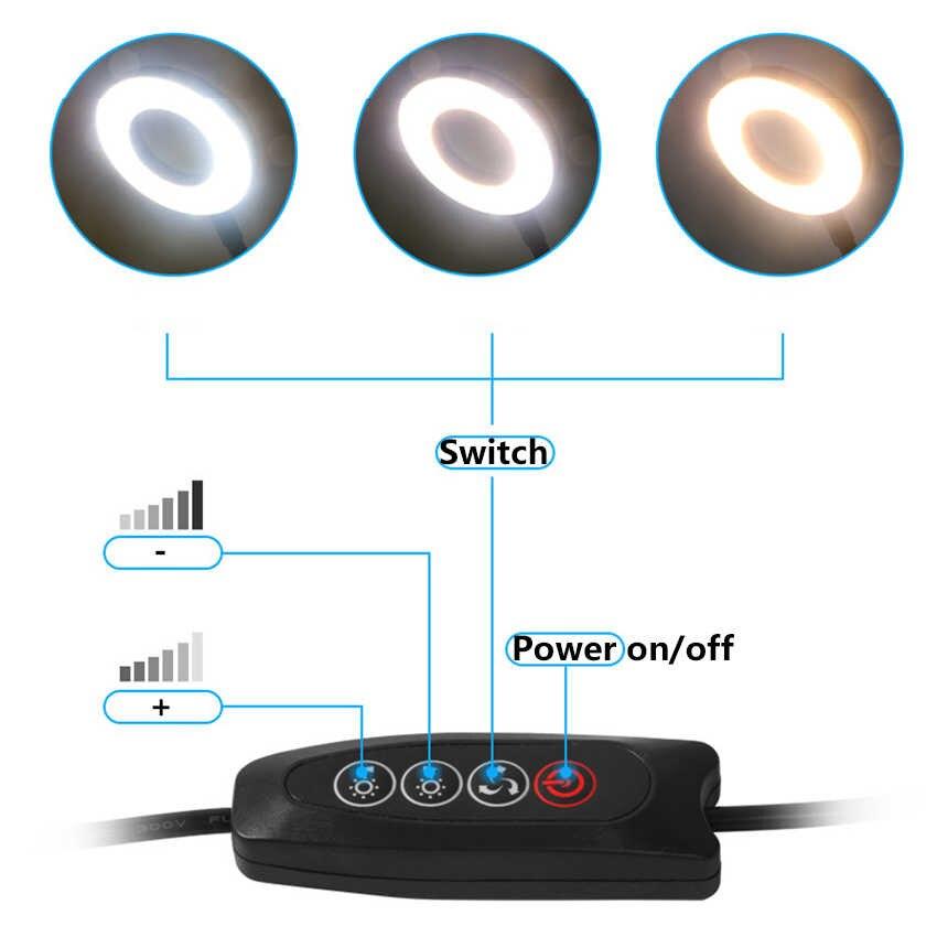 LED Ring Flash Light Mounts Holder