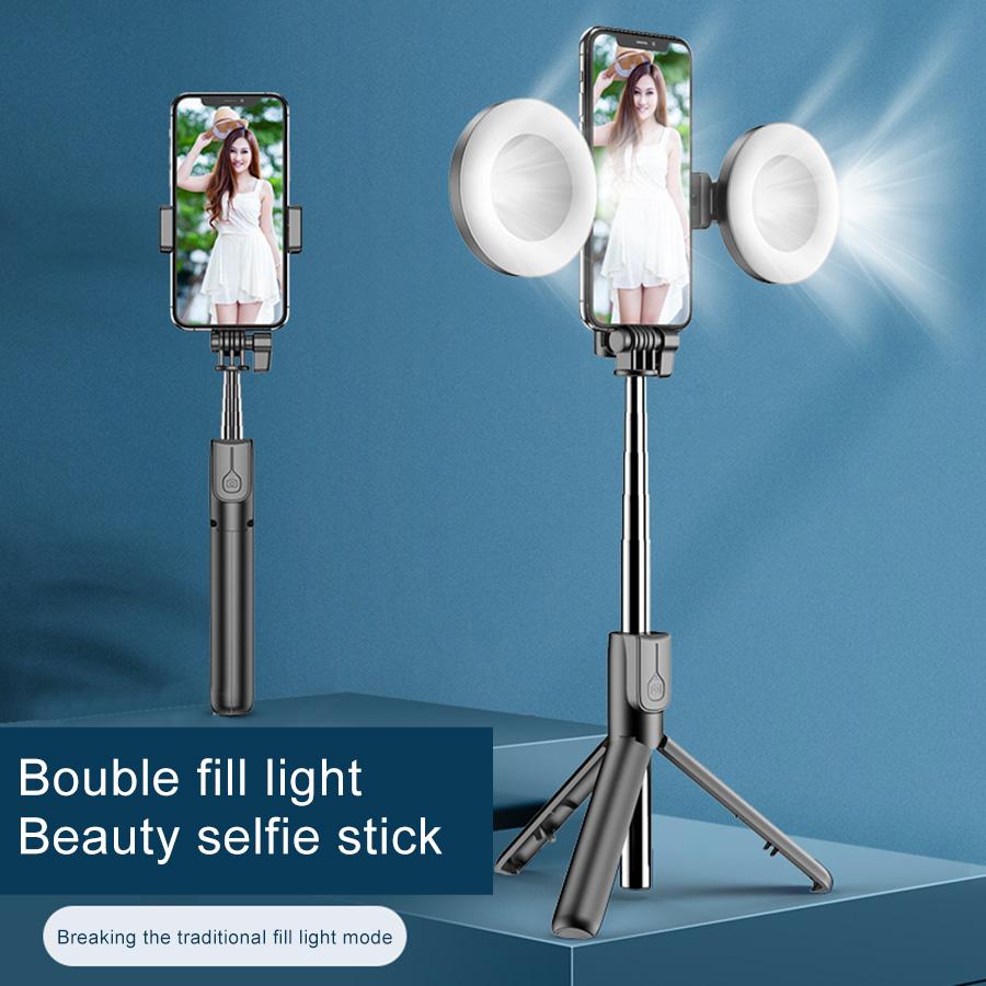 MAMEN Wireless Bluetooth Selfie Stick With Tripod