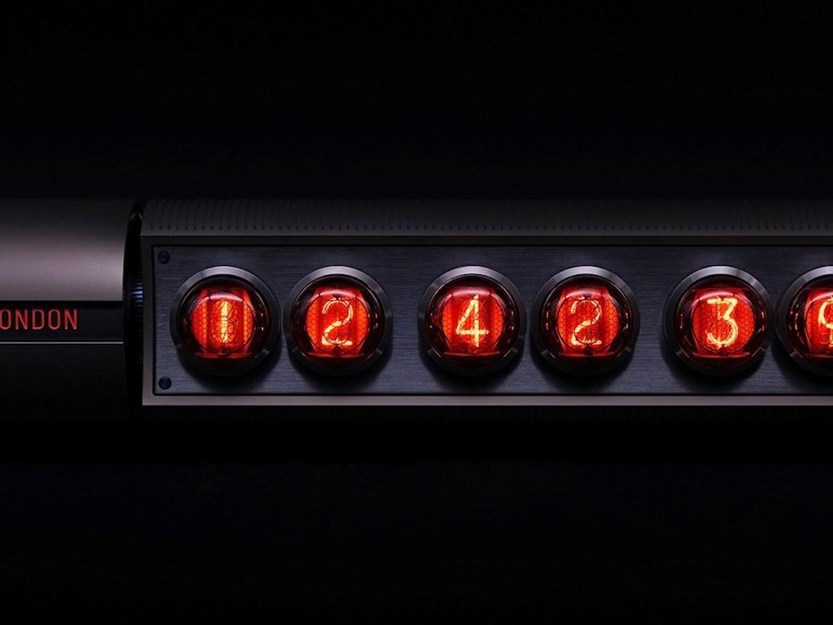 Nixie Time Zone V2 Kinetic Table Clock