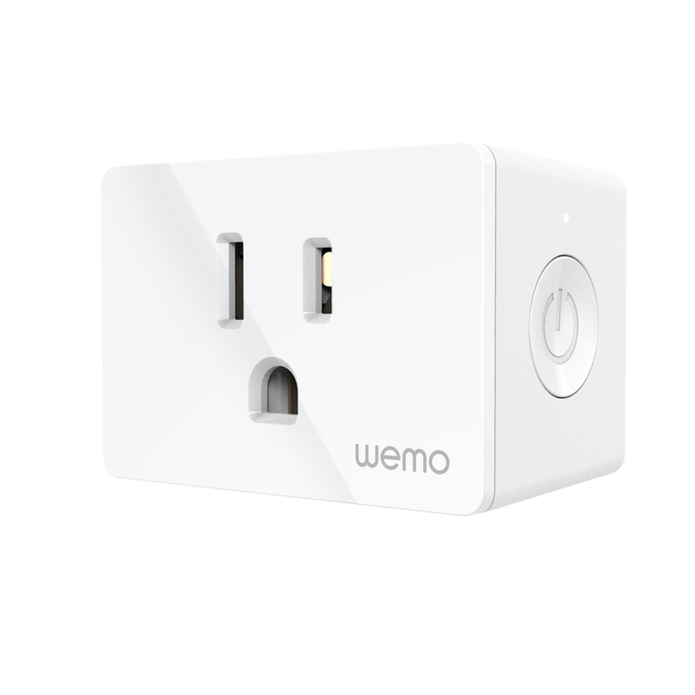 Wemo WiFi Smart Plug Compact