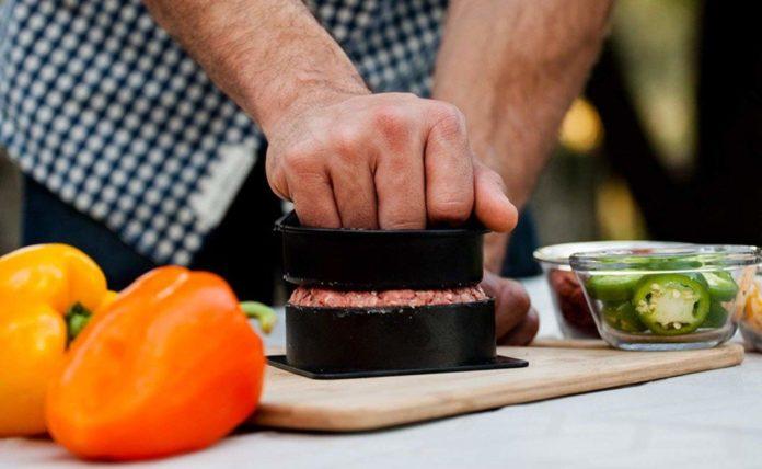 Grillaholics Press Hamburger Filler