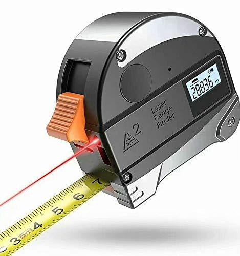 Laser Tape Measure 2-in-1