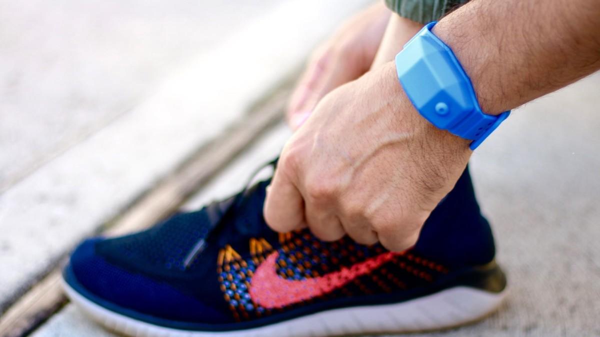 CleanWrist sanitizer bracelet