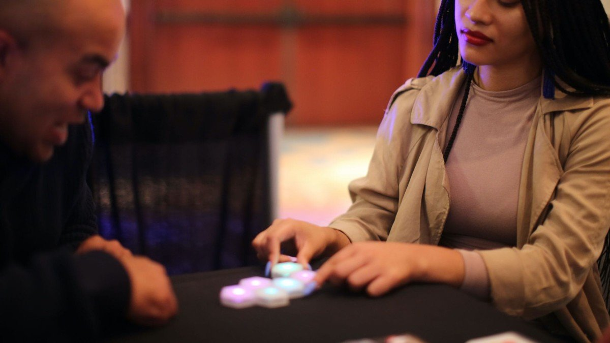 Blinks by Move38 tabletop Game System