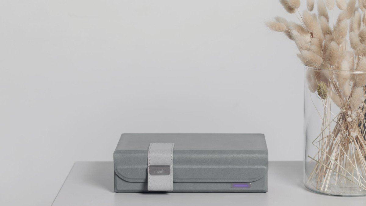 Moshi Deep Purple origami UV sanitizer