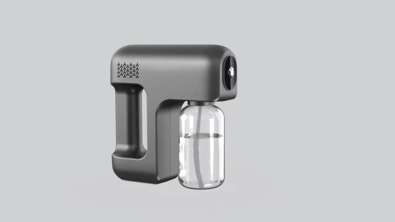 Roaming Ear Disinfectant Spray Machine