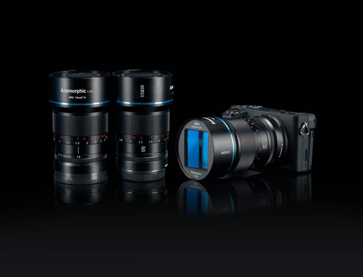 SIRUI 24mm smart Anamorphic Lens