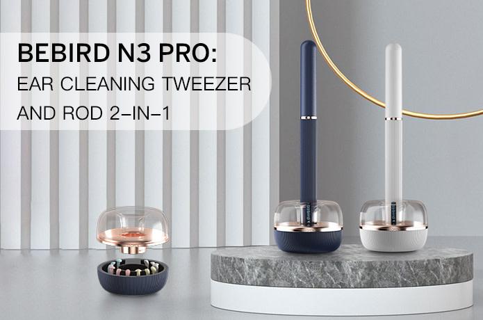 Bebird N3 Pro Ear Cleaning Tweezer and Rod