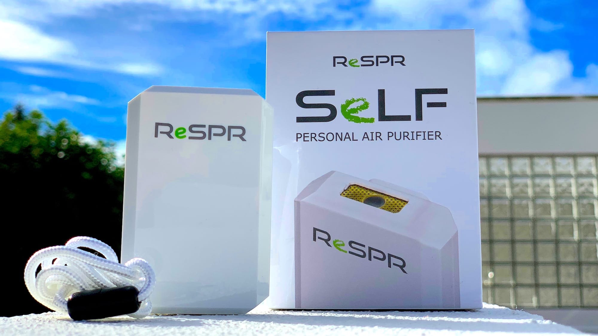 ReSPR SeLF Wearable Air Purifier