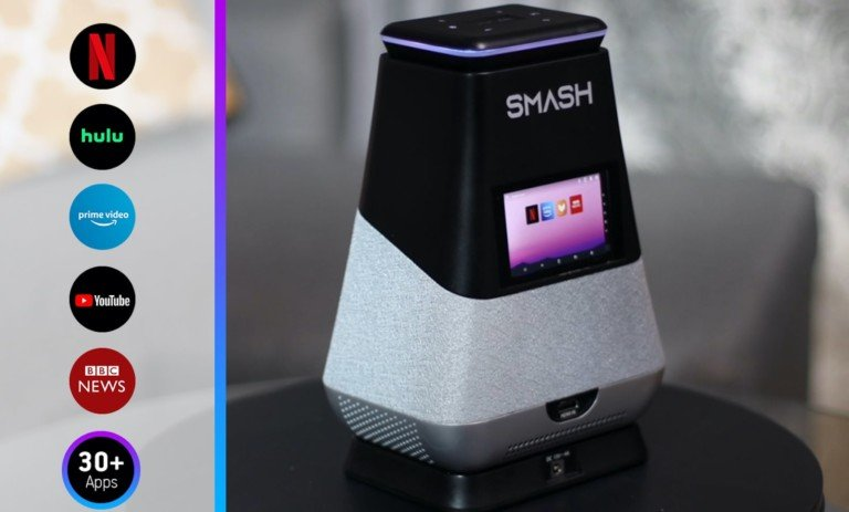 WooBloo SMASH Portable Projector