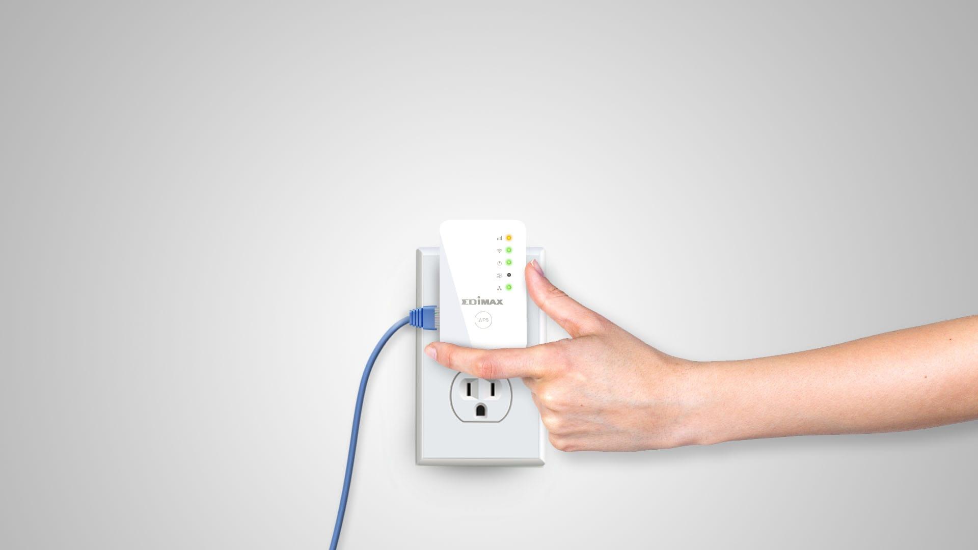 Edimax EW-7438RPn Wi-Fi range extender